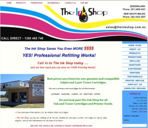 The Ink Shop Bribie Island and Wyoming